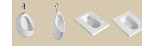 Urinal And Squatting Pan W.C.