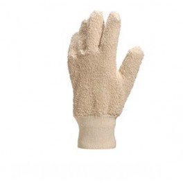 BOUCLE COTTON GLOVE / RIBBED CUFF